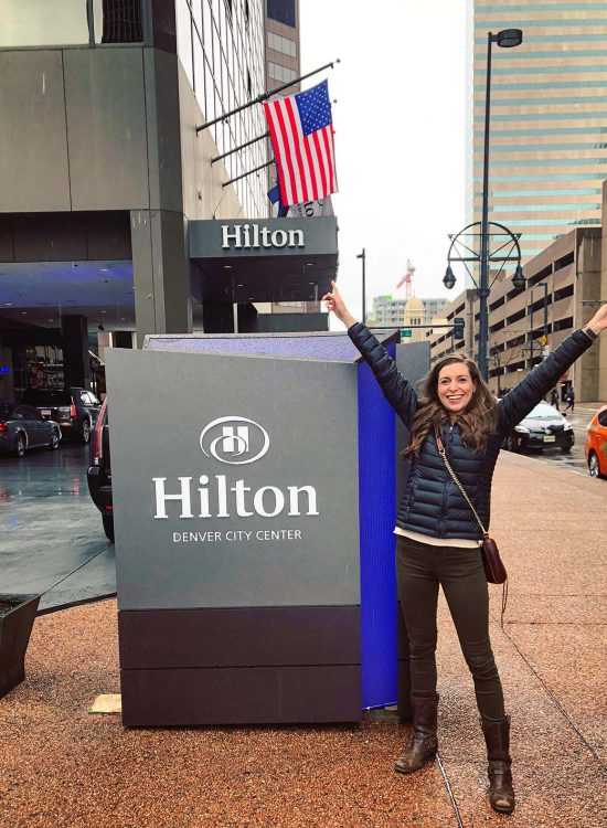 Hilton Denver City Center girls getwaway weekend by Blue Mountain Belle