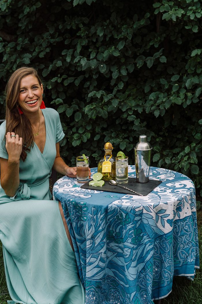 Blue Mountain Belle and the Mile High Margartia - Wrap dress from Vici Collection