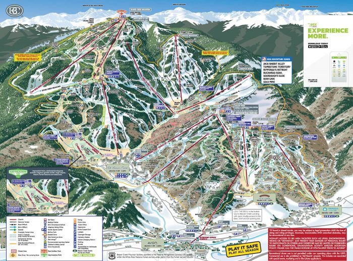 The Complete Guide to Beaver Creek - Beaver Creek Ski Trails