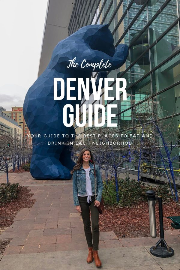 Blue Mountain Belle's Guide to Eating and Drinking around Denver