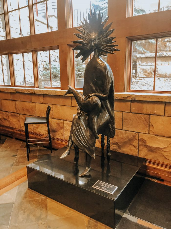 Blue Mountain Belle's Review of The Sebastian Vail - Leonora sculpture