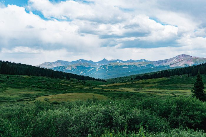 Shrine Ridge Hike Vail Colorado