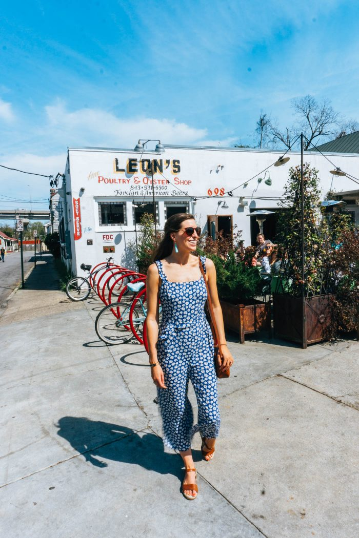 Blue Mountain Belle in Vici Collection Jumpsuit
