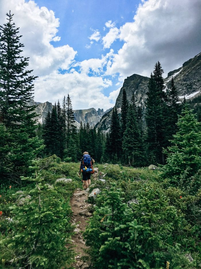 Blue Mountain Belle - Backpacking to Crater Lake, Lone Eagle Peak in the Indian Peaks National Wilderness