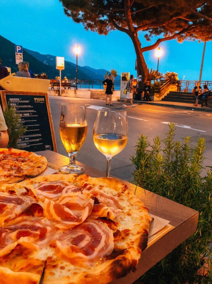 Cinque Terra Monterosso Al Mare Fornaio di Monterosso pizza