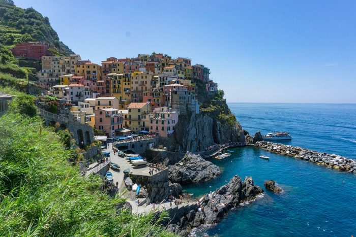Hiking Cinque Terre - Blue Mountain Belle