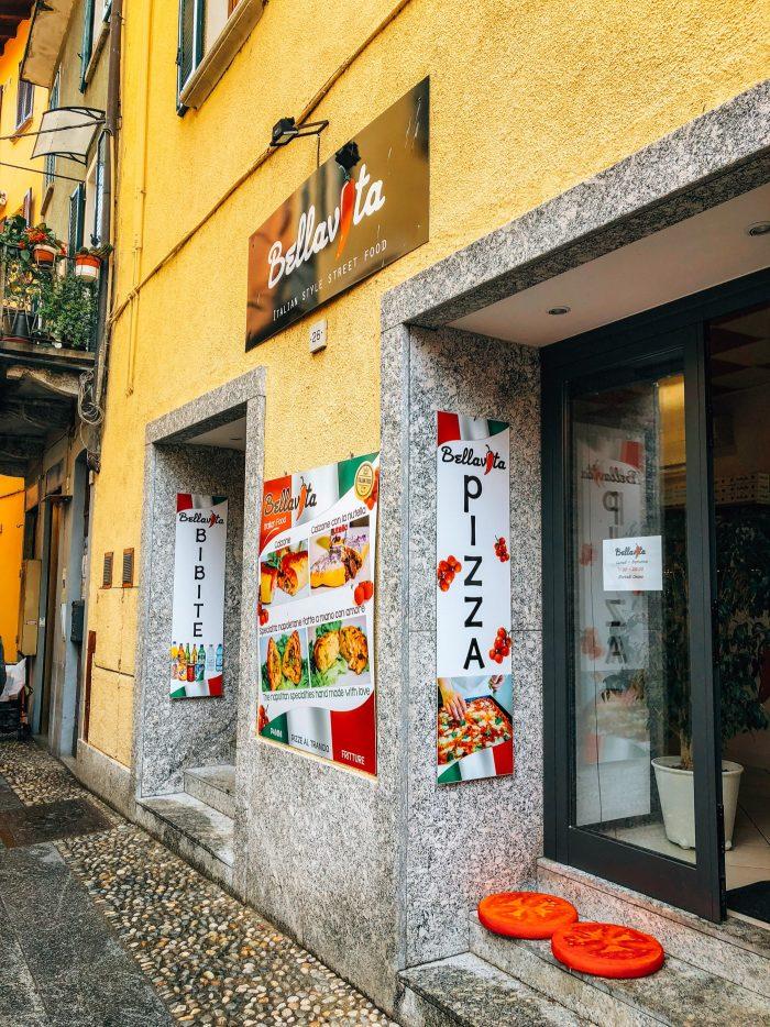 Bellavita Pizza, Lake Como, Bellagio - Blue Mountain Belle Bellagio Guide