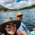 Clay & Channing at Molas Lake