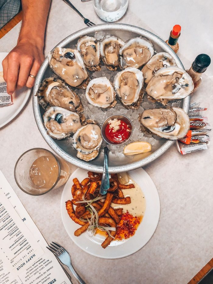 Jax Fish House Lodo Oyster Happy Hour