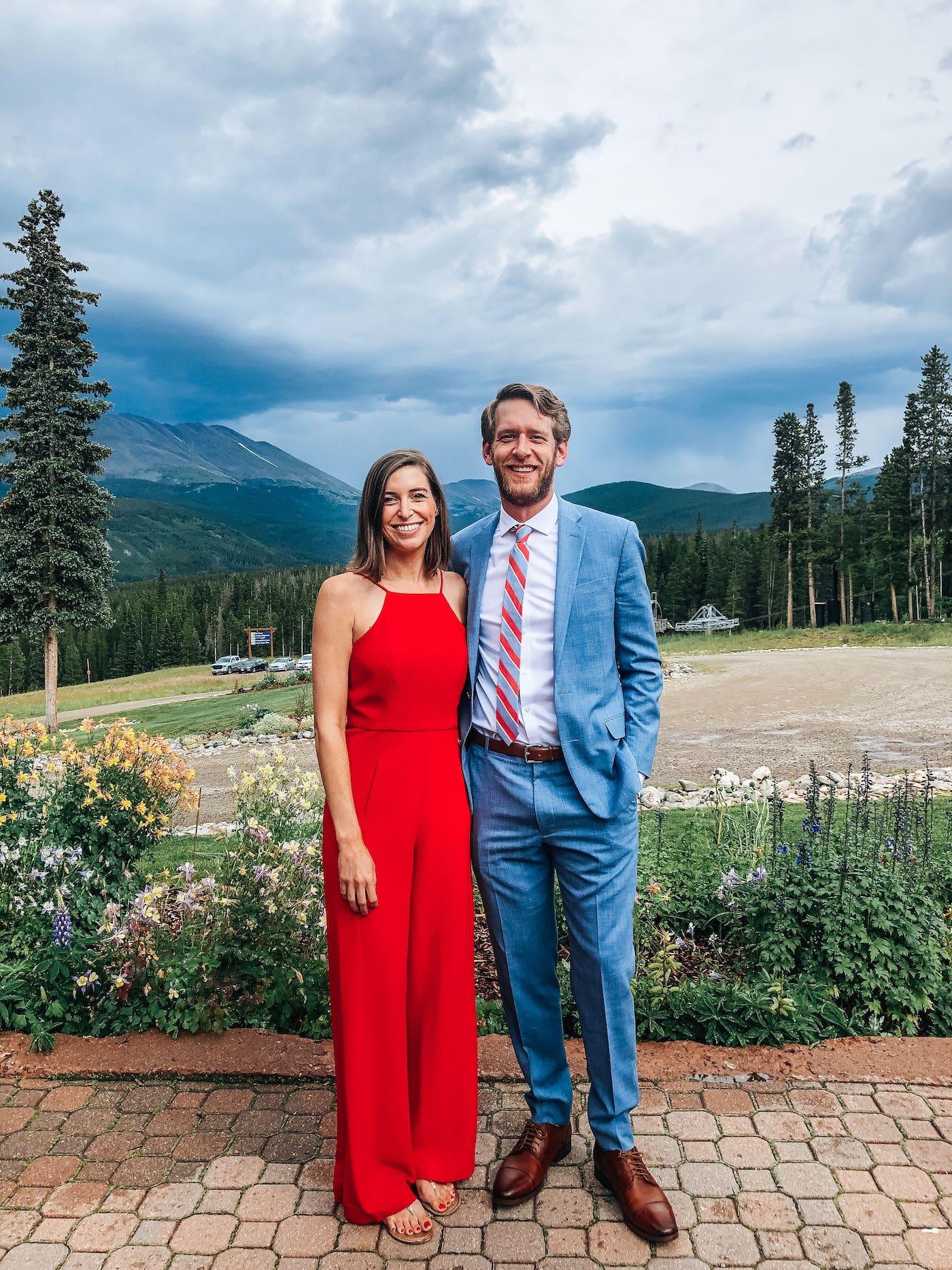 Channing & Clay at Breckenridge Wedding