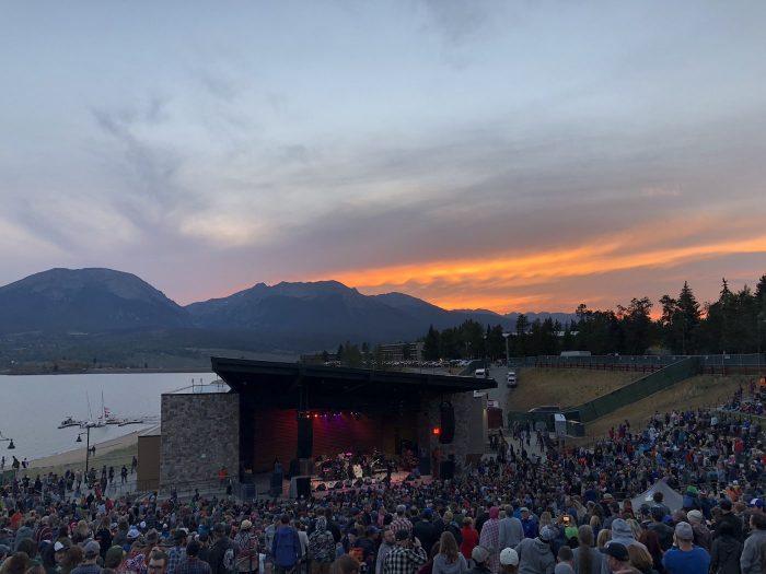 Dillon Amphitheater at Sunset